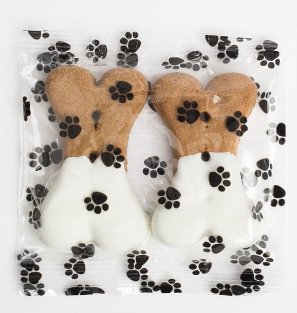 Vanilla Dipped Dog Bones- Medium (3)