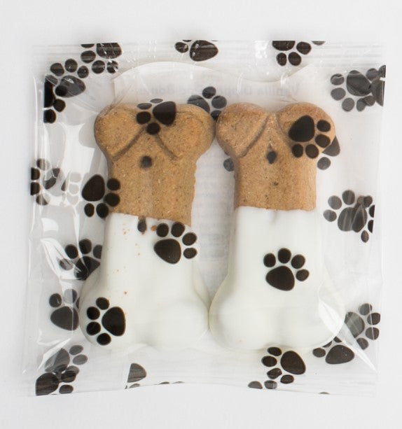 Vanilla Dipped Dog Bones- Small (6)