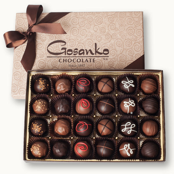 Liquor Truffle Box of 24