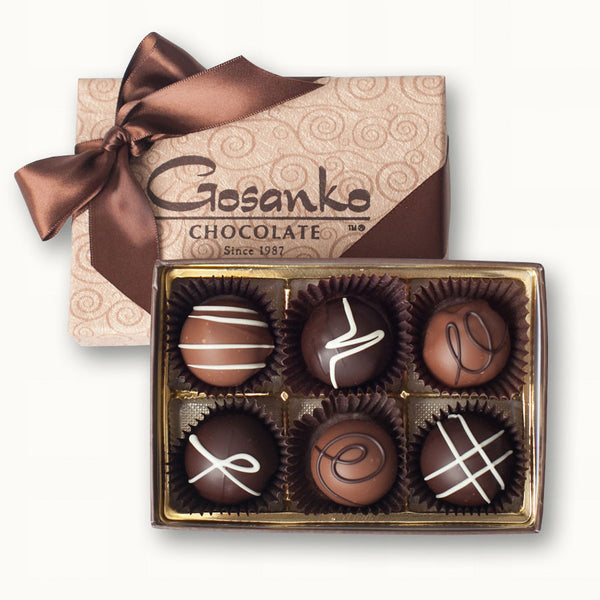 Very-Berry Truffle Box of 6