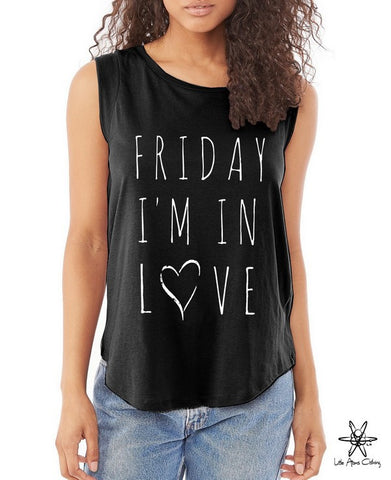 Friday I'm In Love Cap Sleeve Tee