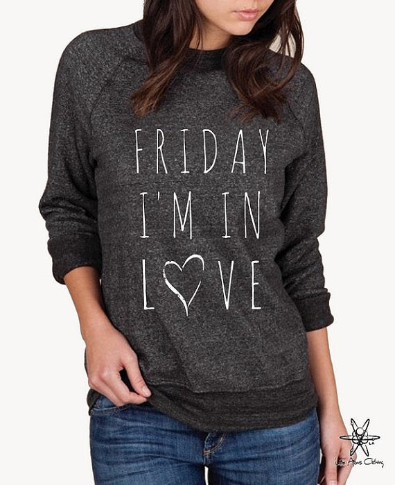 Friday, I'm In Love Champ Sweatshirt