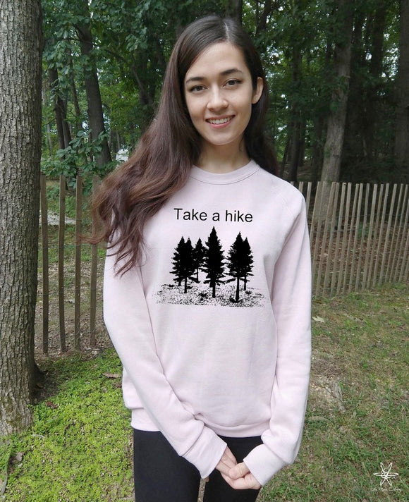 Take a Hike Champ Sweatshirt