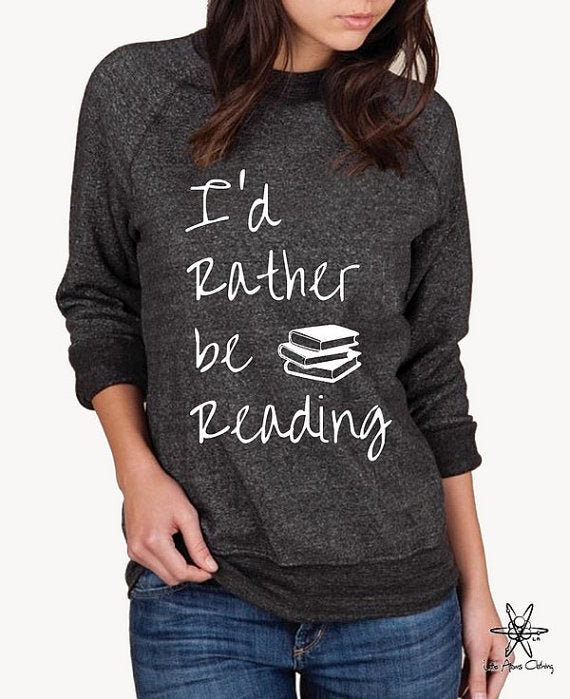 I'd Rather Be Reading Champ Sweatshirt