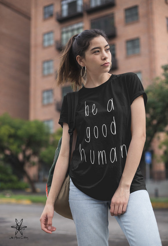 Be a Good Human Unisex Crew Tri Blend tee shirt