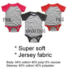 DJ Sleep-a-lot Raglan Bodysuit