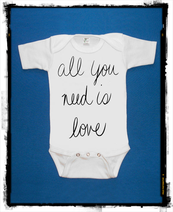 All You Need is Love Bodysuit