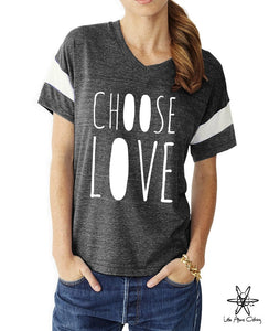 Choose Love Powder Puff Tee