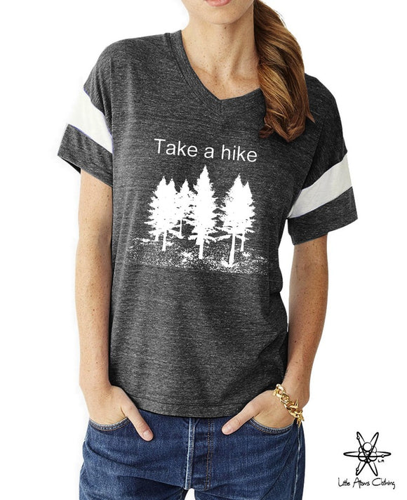 Take a Hike Powder Puff Tee