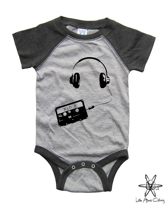 Kid A Raglan Bodysuit