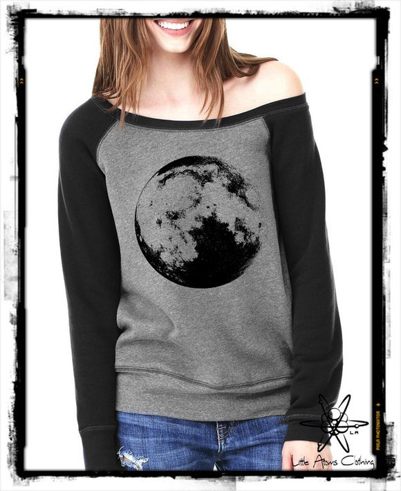 Full Moon Wideneck Sweatshirt