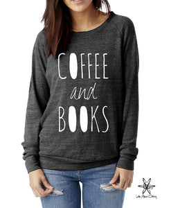 Coffee and Books Pullover