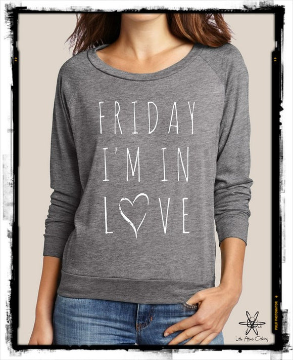 Friday I'm In Love Pullover