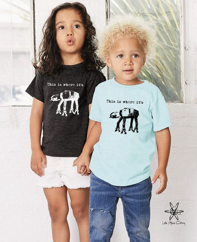 This is where it's At At Toddler Tee