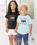 Don't Worry Be Hoppy Toddler Tee