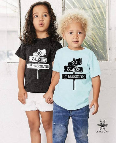 No Sleep Til Brooklyn Toddler Tee