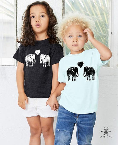 Elephants Toddler Tee