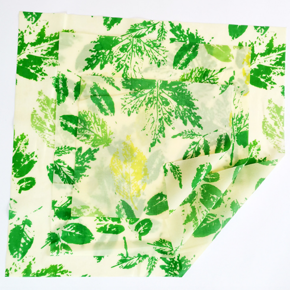Beeswax Food Wraps - Set of 3