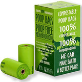 Dog Waste Bags - Compostable, 120 count