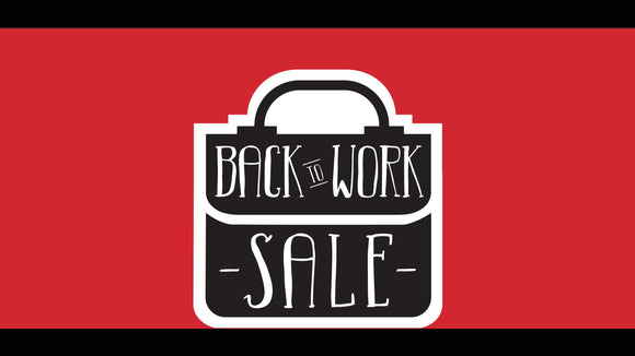 Back to Work Sales