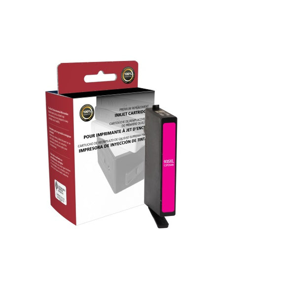 Clover Imaging Group 118085 Remanufactured High Yield Magenta Ink Cartridge (Alternative for HP C2P25AN 935XL) (825 Yield)