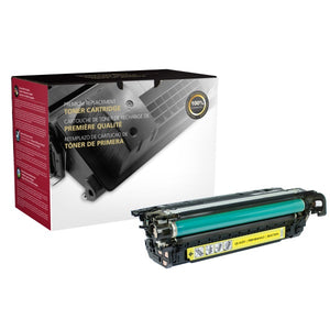 Clover Imaging Group 200787P Remanufactured Yellow Toner Cartridge (Alternative for HP CF332A 654A) (15,000 Yield) - Technology Inks Pro, LLC.