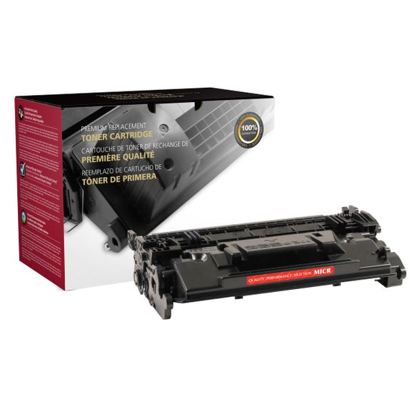 Clover Imaging Group 200899P Remanufactured MICR Toner Cartridge (Alternative for HP CF287A 87A) (9,000 Yield) - Technology Inks Pro, LLC.