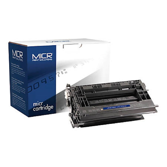 MICR Print Solutions MCR37AM New MICR Toner Cartridge (Alternative for HP CF237A 37A) (11,000 Yield)