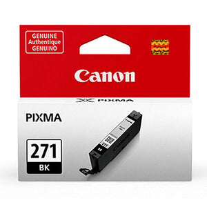 Canon 0390C001 (CLI-271) Black Ink Cartridge (6.5ml)