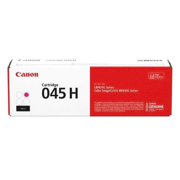 Canon 1244C001AA (CRG-045H) High Capacity (Magenta) Toner Cartridge (2,200 Yield) - Technology Inks Pro, LLC.