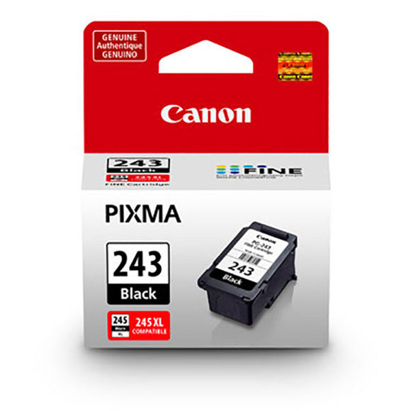 Canon 1287C001 (PG-243) Pigment Black Ink Cartridge