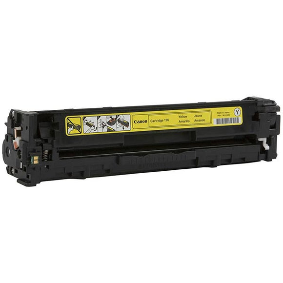 Canon 1977B001AA (CRG-116Y) Yellow Toner Cartridge (1,500 Yield) - Technology Inks Pro, LLC.