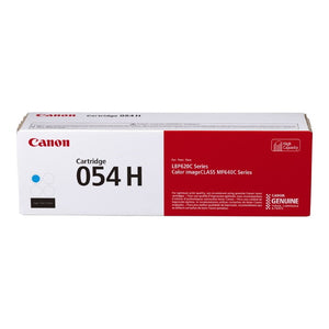 Canon 3027C001AA (CRG-054 H C) High Yield Cyan Toner Cartridge (2,300 Yield) - Technology Inks Pro, LLC.