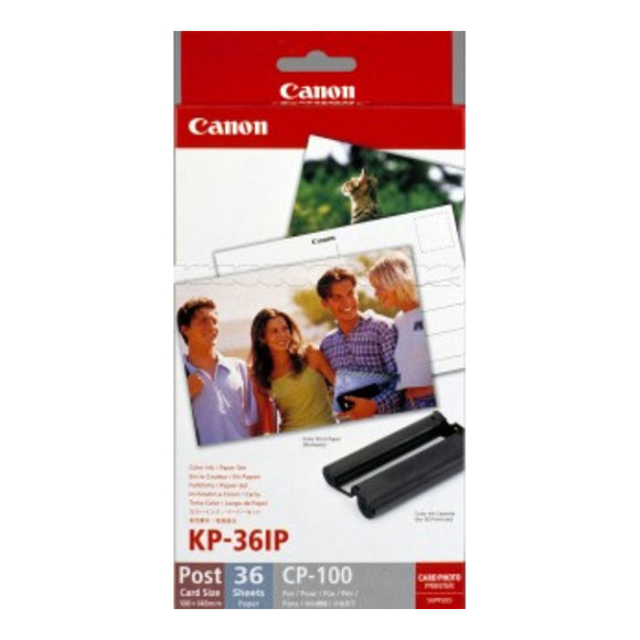 Canon 7737A001 (KP-36IP) Color Ink Cartridge (Includes 36 Sheets of 4