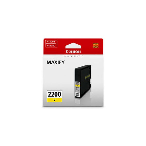 Canon 9306B001 (PGI-2200) Yellow Ink Tank (700 Yield)