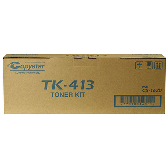 Copystar 370AM016 Copystar (TK-413) Toner Cartridge (15,000 Yield)