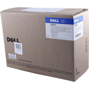 Dell GD531 Use and Black Toner Cartridge (OEM# 341-2918 310-7236) (10,000 Yield)