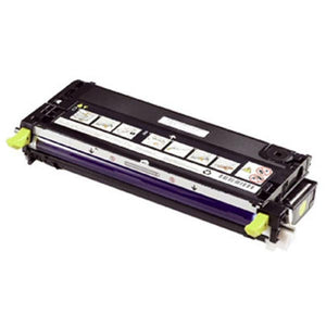 Dell H515C High Yield Yellow Toner Cartridge (OEM# 330-1204) (9,000 Yield)