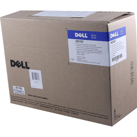 Dell HD767 High Yield Use and Return Toner Cartridge (OEM# 341-2919 310-7237) (20,000 Yield)