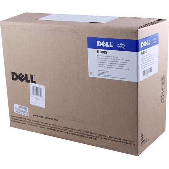Dell K2885 High Yield Use and Return Toner Cartridge (OEM# 310-4131 310-4549) (18,000 Yield)