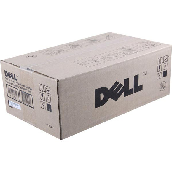 Dell NF555 Yellow Toner Cartridge (OEM# 310-8099 310-8402) (4,000 Yield)