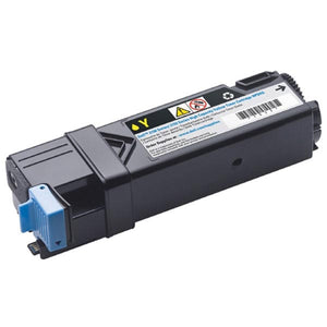 Dell NPDXG High Yield Yellow Toner Cartridge (OEM# 331-0718) (2,500 Yield)