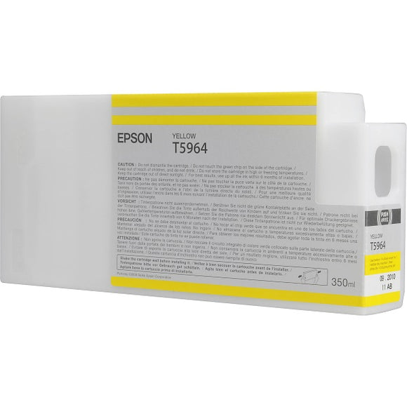 Epson T596400 Yellow Ultrachrome HDR Ink Cartridge (350 ml)
