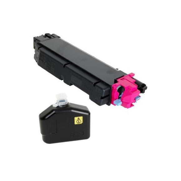 Kyocera TK-5142M Magenta Toner Cartridge Includes Waste Container (5,000 Yield)