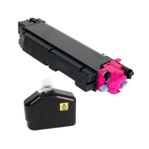Kyocera TK-5152M Magenta Toner Cartridge (Includes Waste Container) (10,000 Yield)