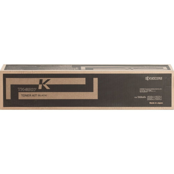 Kyocera TK-8507K Black Toner Cartridge (30,000 Yield)