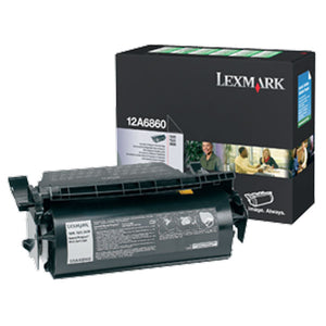 Lexmark 12A6860 Return Program Toner Cartridge (10,000 Yield)