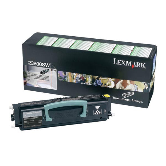 Lexmark 23800SW Return Program Toner Cartridge (2,000 Yield)