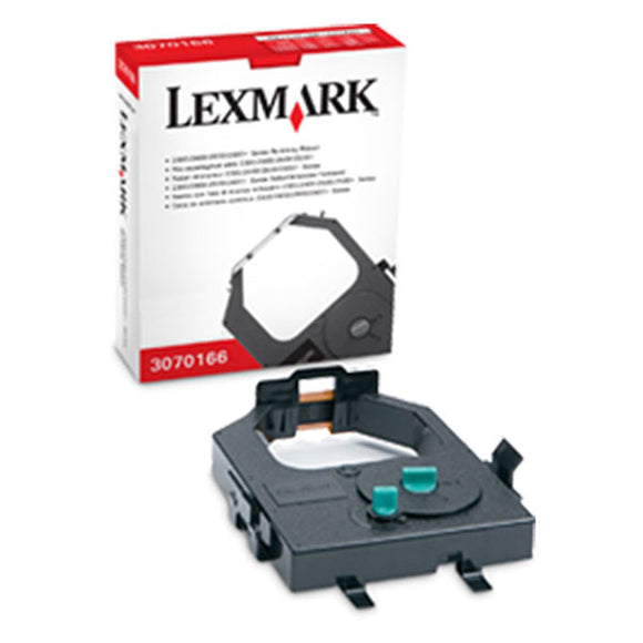 Lexmark 3070166 Black Re-Inking Printer Ribbon (4M Characters)