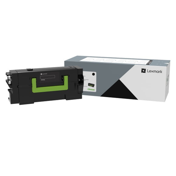 Lexmark 58D0U0G Government Ultra High Yield Black Toner Cartridge (55,000 Yield)